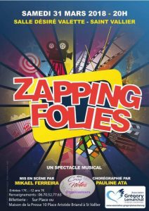 Zapping Folies à Saint-Vallier