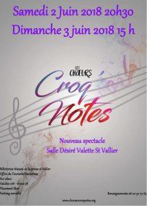 Croq' Notes - chorale Drôme