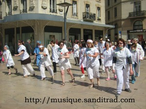 chore-flashmob