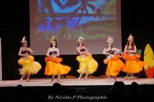 Les danseuses de la Compagnie Tangérine