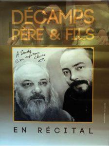 Récital Christian et Tristan Décamps