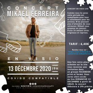 Concert en visio Mikael Ferreira